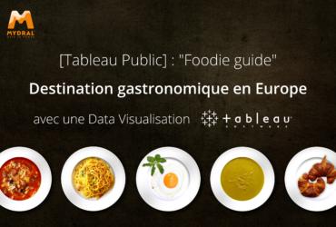 Foodie Guide Tableau
