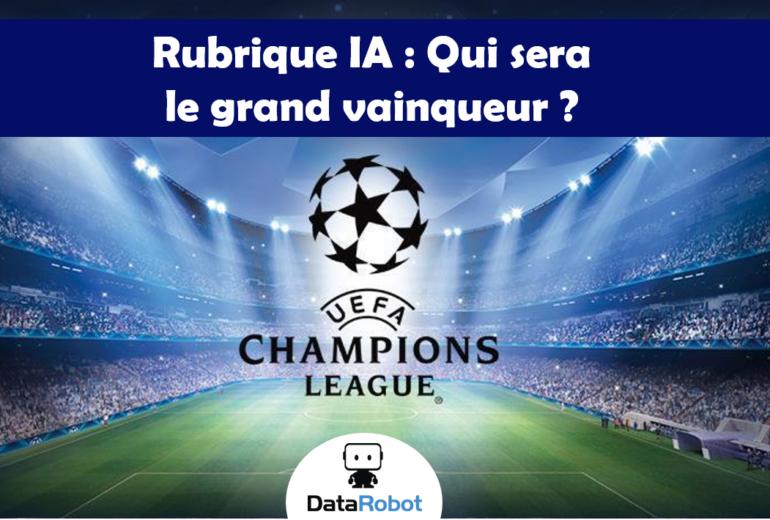Champions league DataRobot