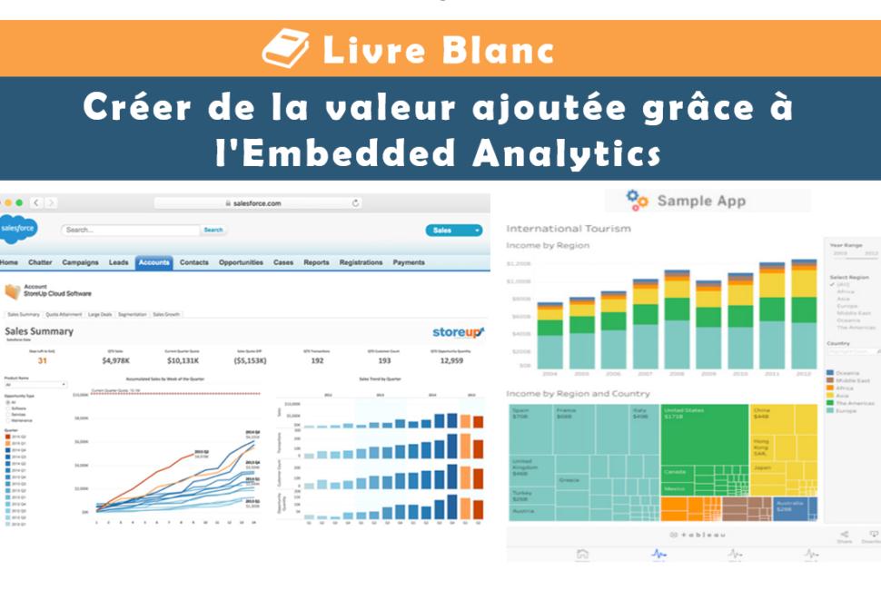 Créer de la valeur ajoutée grâce à l'Embedded Analytics