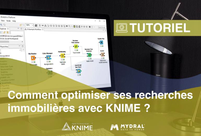 Optimiser les recherches immobilières avec Knime