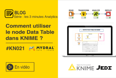 Write read a table KNIME