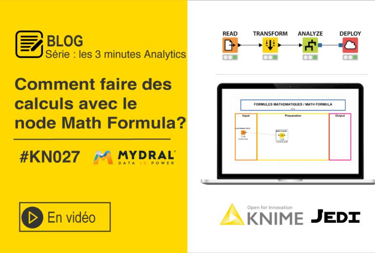 Node Math Formula KNIME