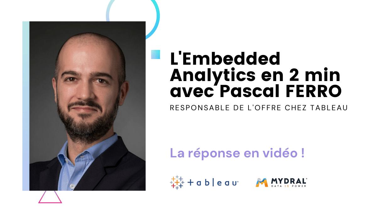 L'Embedded Analytics, une nouvelle manière de partager ses données