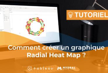 Radial heat map chart Tableau