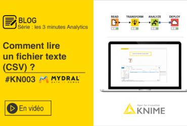 Fichier texte KNIME