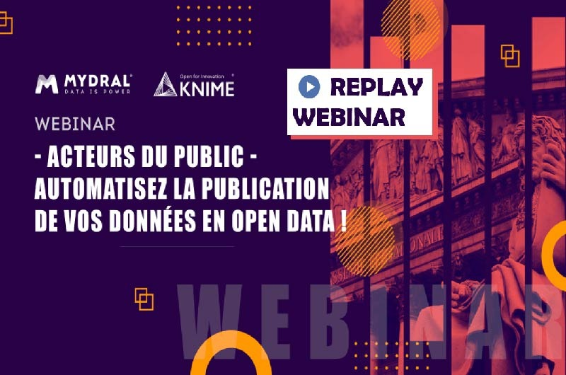 Automatisez publication open data