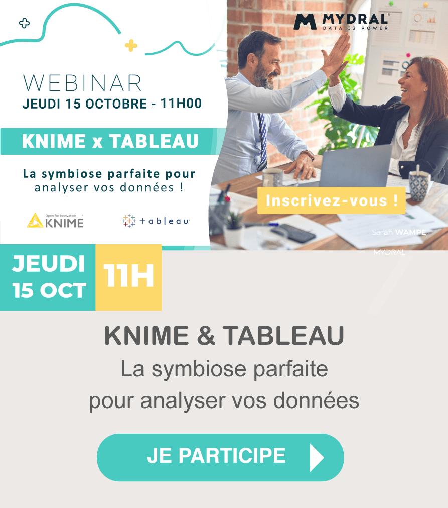 Webinar KNIME & TABLEAU