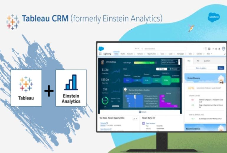 Einstein Analytics Tableau CRM