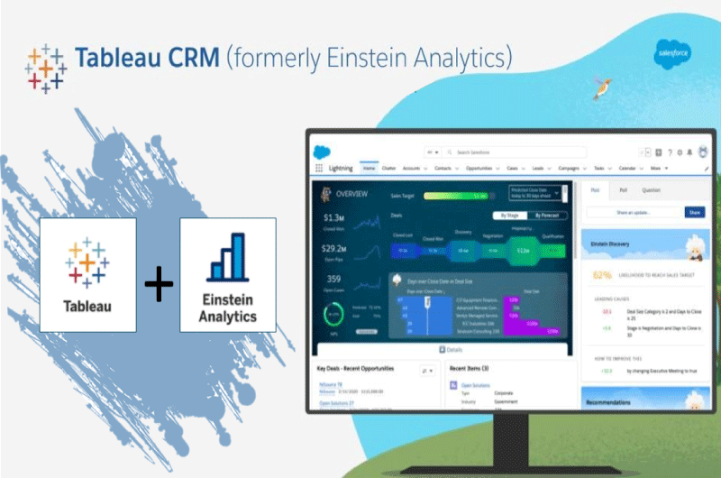 Einstein Analytics Tableau CRM