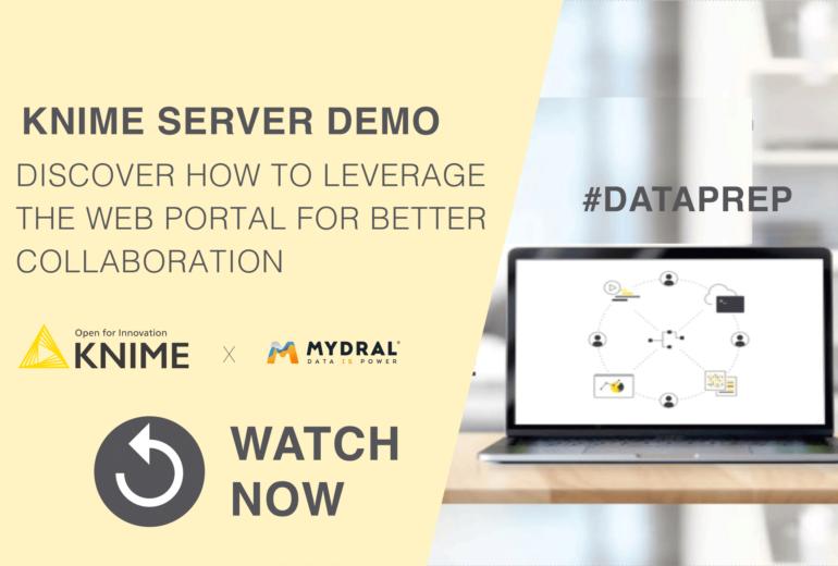 KNIME server data prpe