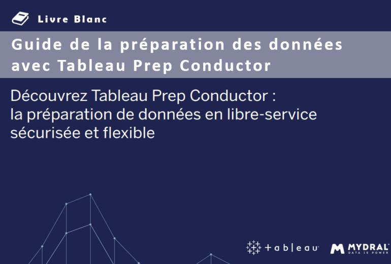 préparation des données avec Tableau Prep