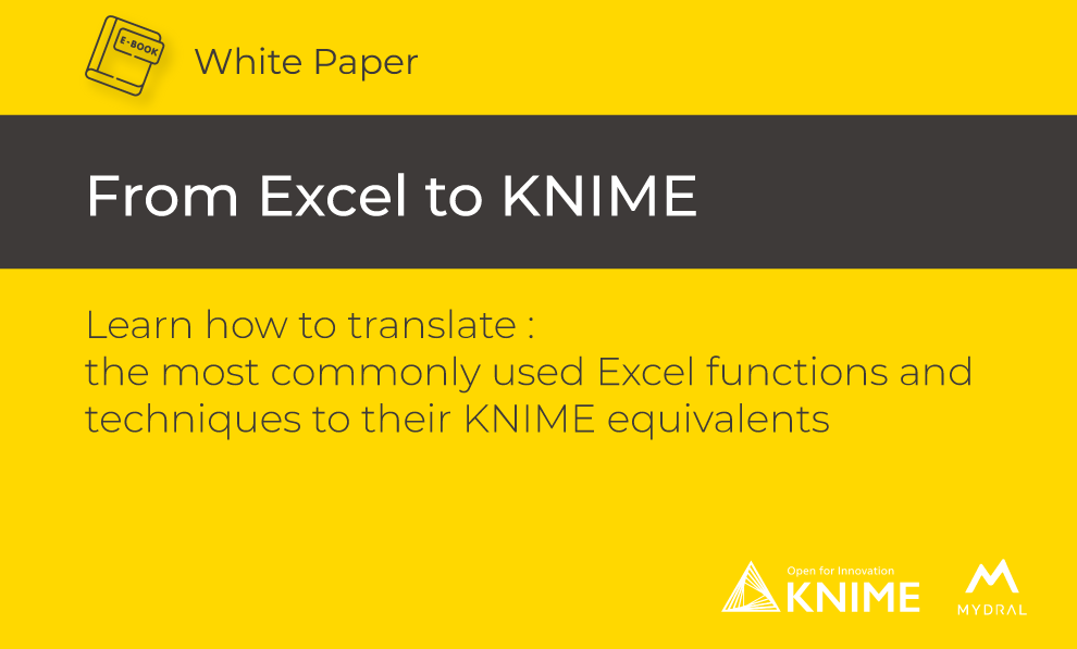 From Excel to KNIME